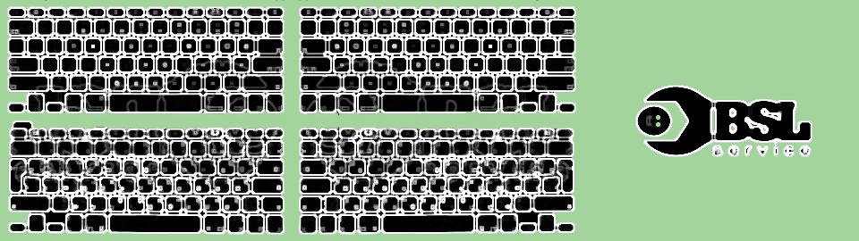Ремонт и замена клавиатуры MacBook в Одессе
