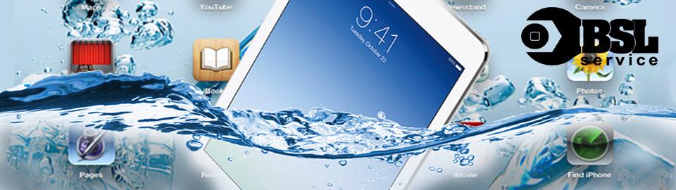 Восстановление iPad после попадания влаги