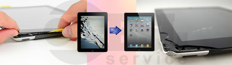 Замена сенсора iPad в Одессе