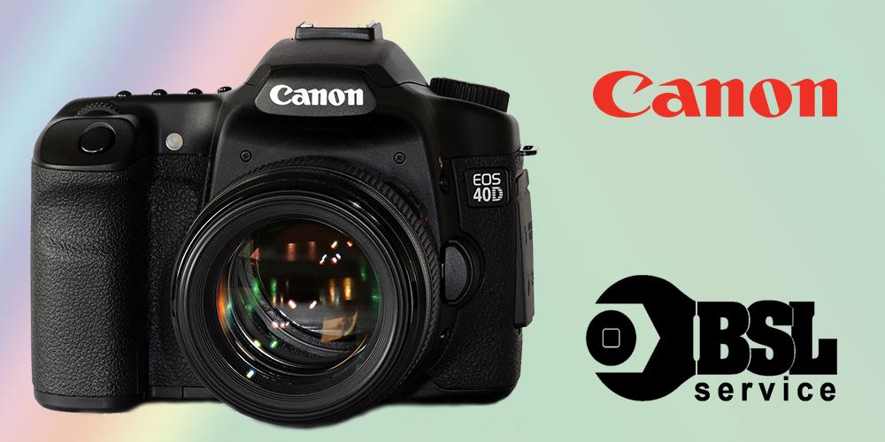 Ремонт фотоаппаратов Canon Одесса