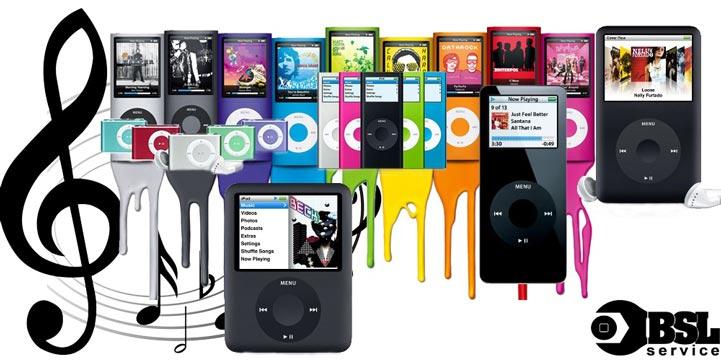 Ремонт iPod nano, touch, classic в Одессе