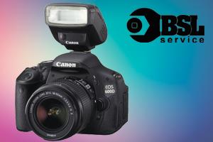 ремонт вспышки фотоаппарата Canon